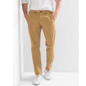 Gap men's slim fit khaki pants